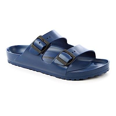 勃肯BIRKENSTOCK129431。ARIZONA EVA經典二條拖鞋(海軍藍)