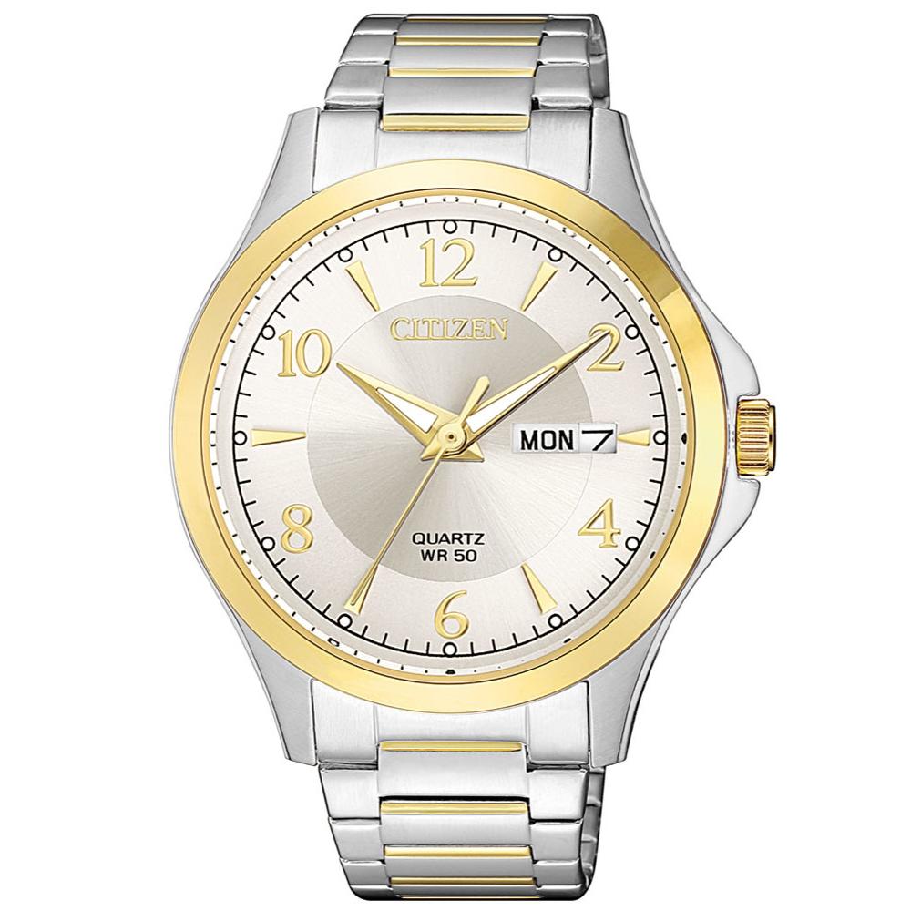CITIZEN星辰 經典紳士三針時尚錶(BF2005-54A) @ Y!購物