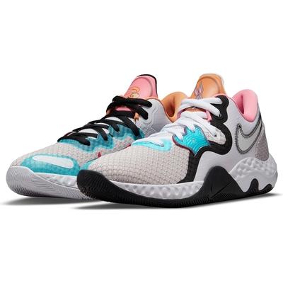 NIKE 耐吉 籃球鞋 運動鞋 包覆 緩震 男鞋 女鞋 粉紫黑 CW3406-505  RENEW ELEVATE II