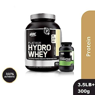 [美國 ON]白金級HYDRO水解分離乳清蛋白(3.5磅)+肌酸300公克