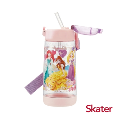 Skater 吸管水壺(480ml)PET 迪士尼公主