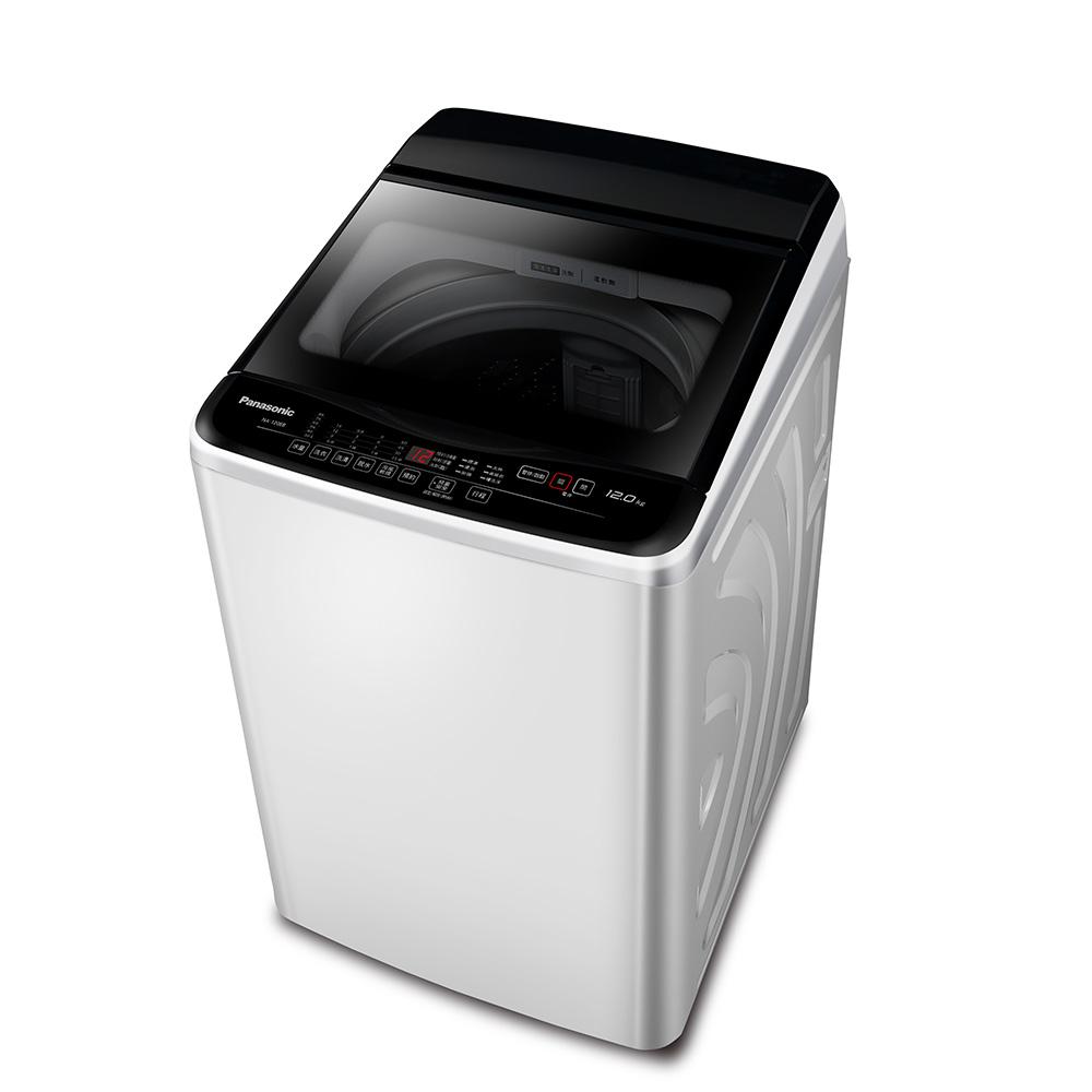 Panasonic國際牌 12KG 定頻直立式洗衣機 NA-120EB-W 台松