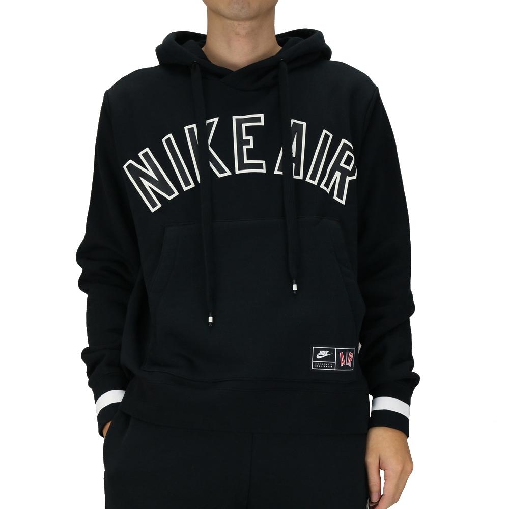 Nike AS M NSW NIKE AIR HOODIE PO FL 男 帽T 黑-AR1818010