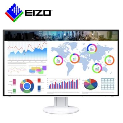 EIZO FlexScan EV3285白色 32吋4K/Type-C/薄邊框/低藍光