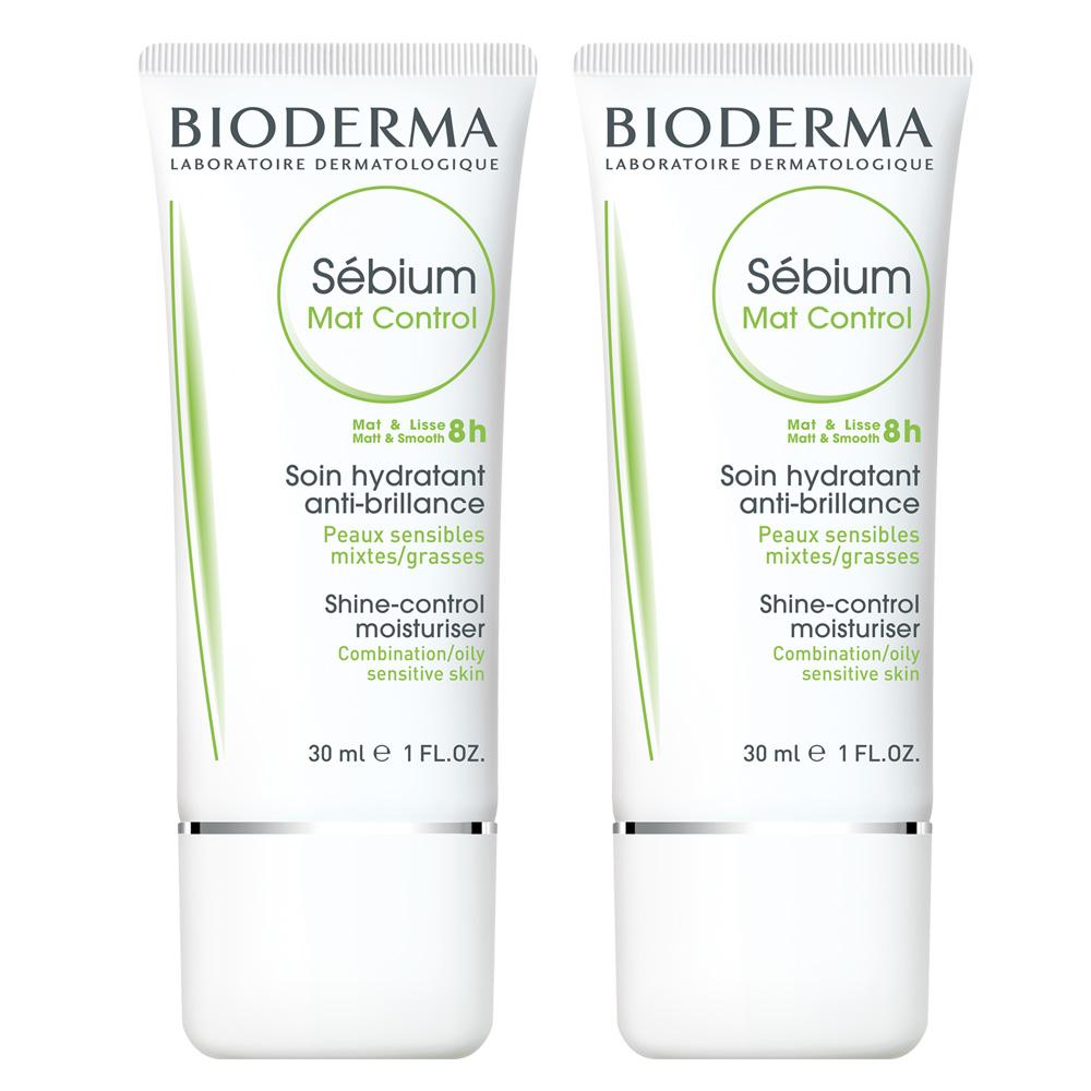 BIODERMA貝膚黛瑪 平衡控油高效保濕水凝乳30ml(二入組)