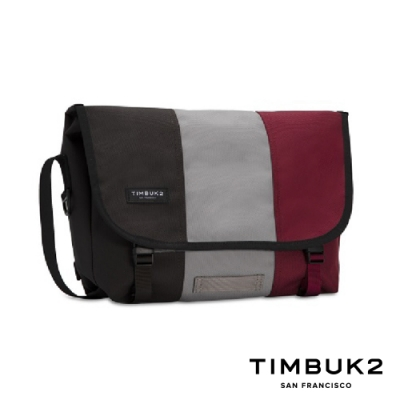 Timbuk2 Classic Messenger 11 吋經典平板郵差包 -莓紅灰黑拼色