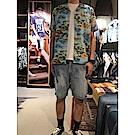 Levis 男款 牛仔短褲 511 低腰修身窄管 棕櫚樹-動態show