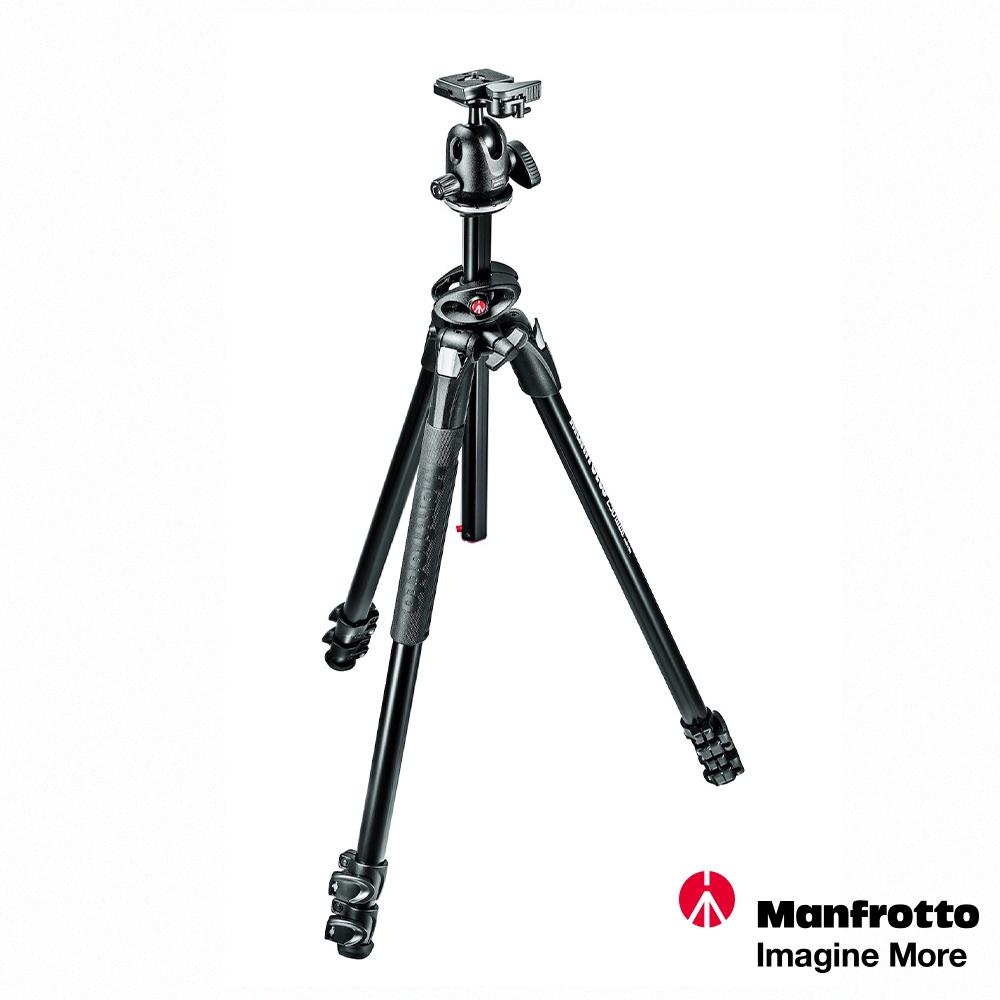 Manfrotto MK290DUA3-BH DUAL豪華 三節腳架+球型雲台套組