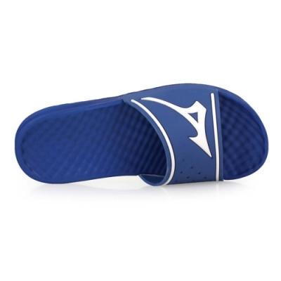 MIZUNO RELAX SLIDE 2 男運動拖鞋-沙灘 海邊 戲水 美津濃 11GJ202027 藍白