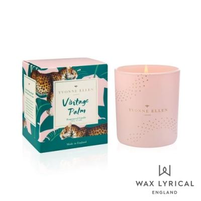英國 Wax Lyrical 動物系列香氛蠟燭-復古棕櫚豹 Vintage Palm 190g