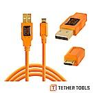 Tether Tools CU5430-ORG USB2.0傳輸線A公轉Micro B