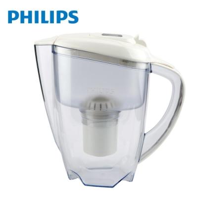 【Philips 飛利浦】超濾帶計時器3.5L濾水壺-白 AWP2920