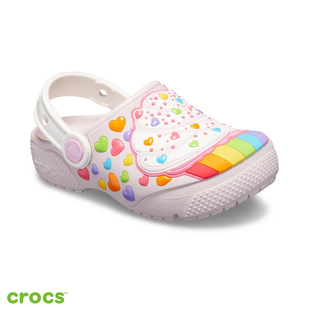 Crocs 卡駱馳 (童鞋) 趣味學院杯子蛋糕小克駱格 205647-6PI