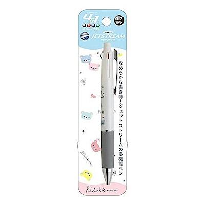 拉拉熊 Uni  Jetstream 4 1 多機能溜溜筆。悠閒系列 (白)San-X