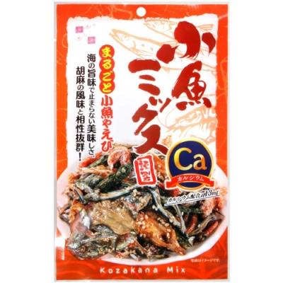 Sakura food 酥脆綜合海鮮魚乾 (45g)