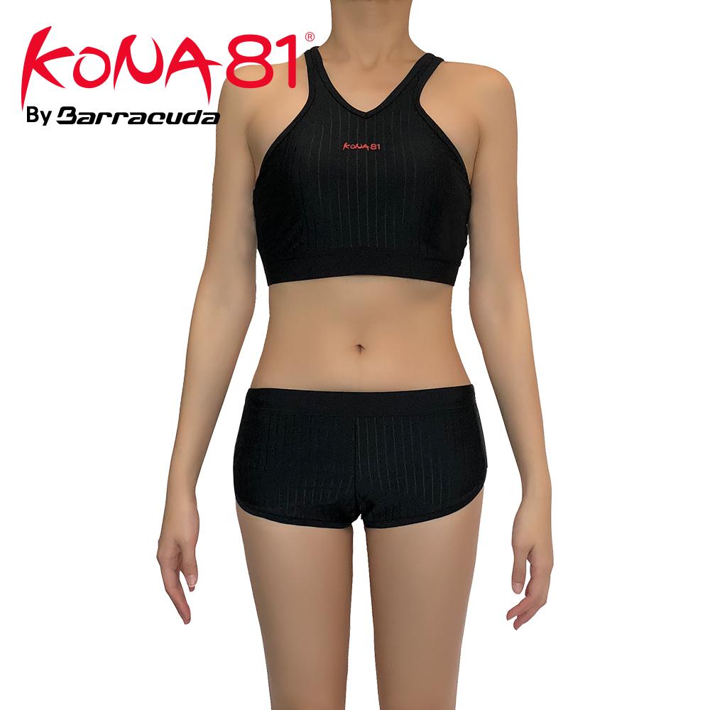 酷吶81 削肩抗UV兩件式四角泳裝 KONA81 ACTIVE04