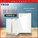 (買大送小)TECO東元 高效負離子空氣清淨機 NN4101BD+NN1601BD