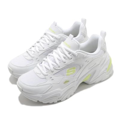 Skechers 休閒鞋 Stamina V2 老爹鞋 女鞋 防滑 耐磨 輕量 避震 緩衝 穿搭推薦 白 黃 149510WLM