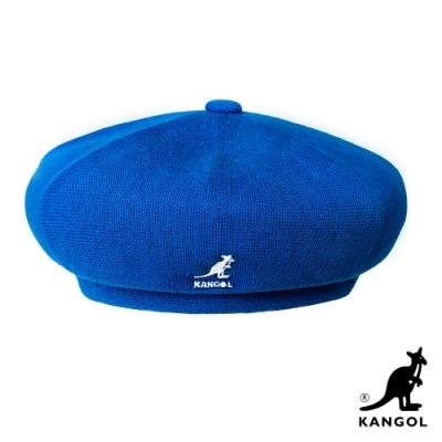 KANGOL-BAMBOO JAX 貝蕾帽-湛藍色