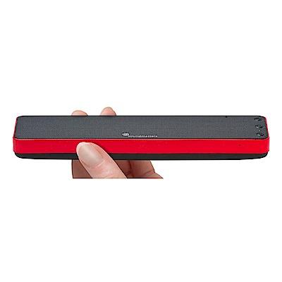 soundmatters foxL DASH 7 輕薄型藍牙喇叭 紅色