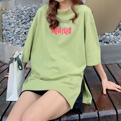 2F韓衣-簡約寬袖舒適造型上衣-3色(M-XL)