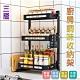 【Lebon life】不鏽鋼廚房置物架-三層/2組(二層 調味罐收納 廚房收納 收納架 整理架 層架 廚房置物架 調味料架) product thumbnail 2