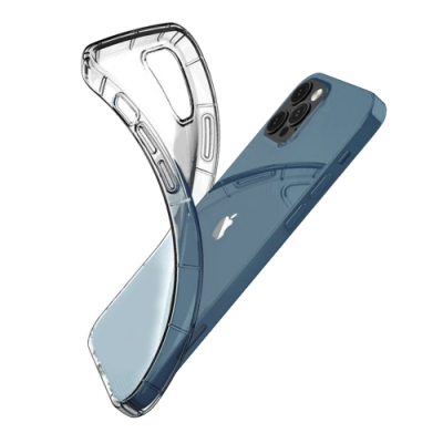 iPhone 12 Pro Max 防摔殼 手機保護殼 透明 氣墊空壓殼 手機殼 保護殼-i12 Pro Max 氣墊*1