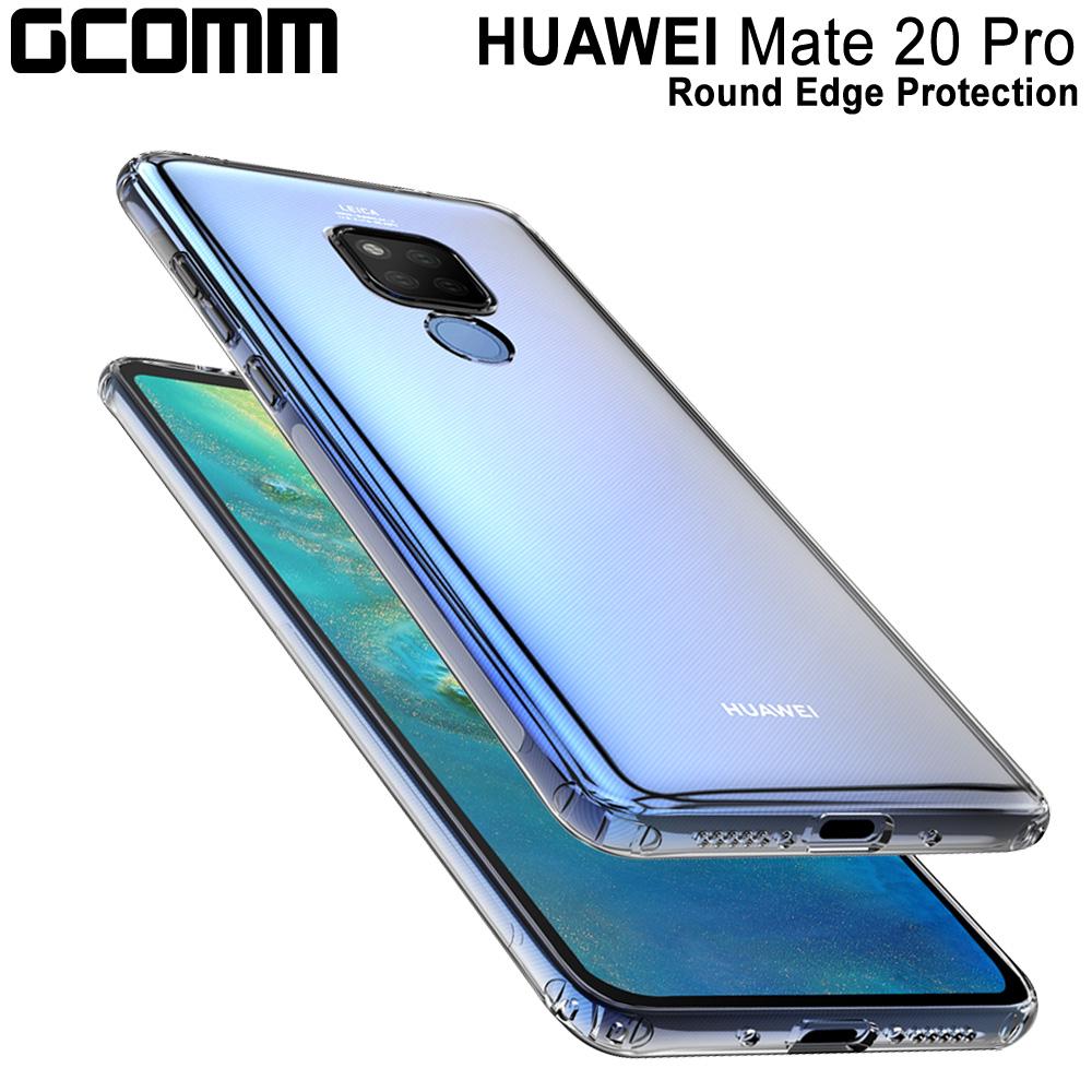GCOMM 華為 Mate 20 Pro 清透圓角防滑邊保護套 Round Edge