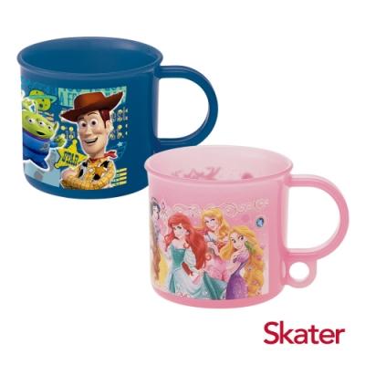 Skater吊掛式漱口杯-玩具總動員(藍)+迪士尼公主Dream