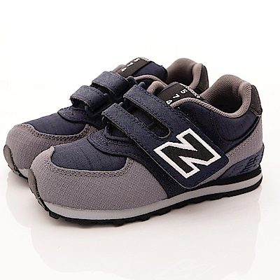 零碼-13.5cm NewBalance童鞋 574後穩定機能鞋款QWI黑