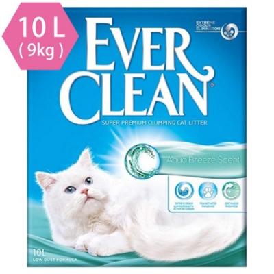 藍鑽歐規EVER CLEAN 海洋香芬結塊貓砂10L