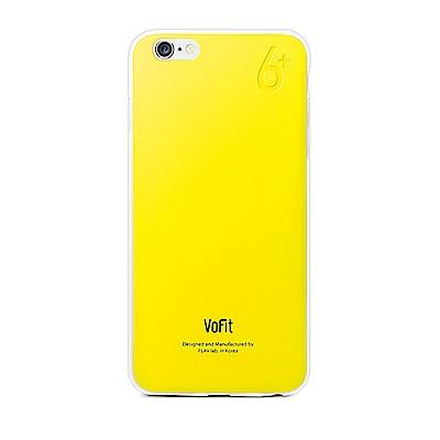 VoFit iphone6 Plus 精品馬卡龍保護殼-檸檬黃