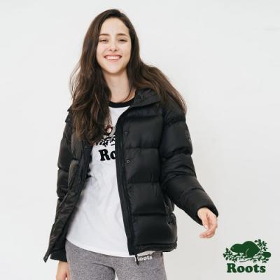 ROOTS 女裝- 羽絨大衣-黑