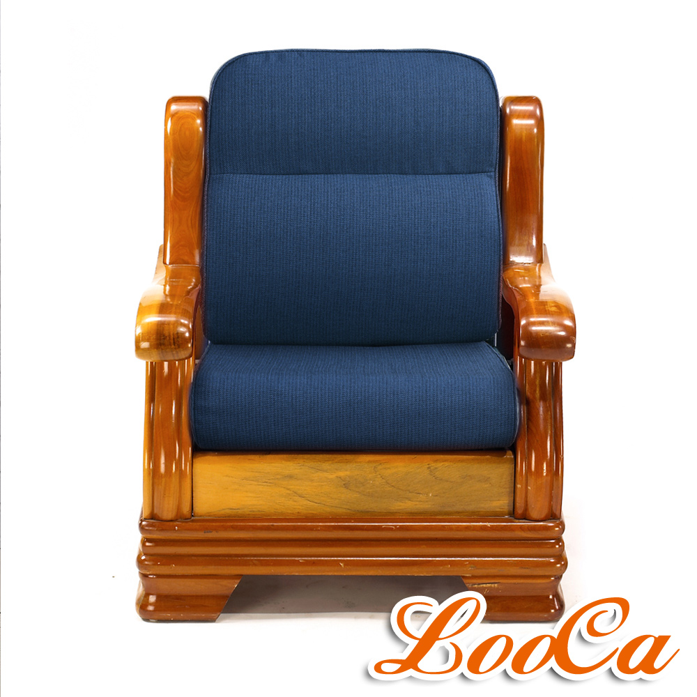 LooCa 富貴厚10cm全開式兩用沙發墊(6入) product image 1