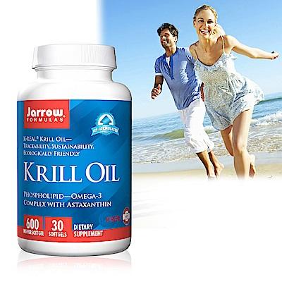 Jarrow賈羅公式 超級磷蝦油600mg軟膠囊(30粒/瓶)