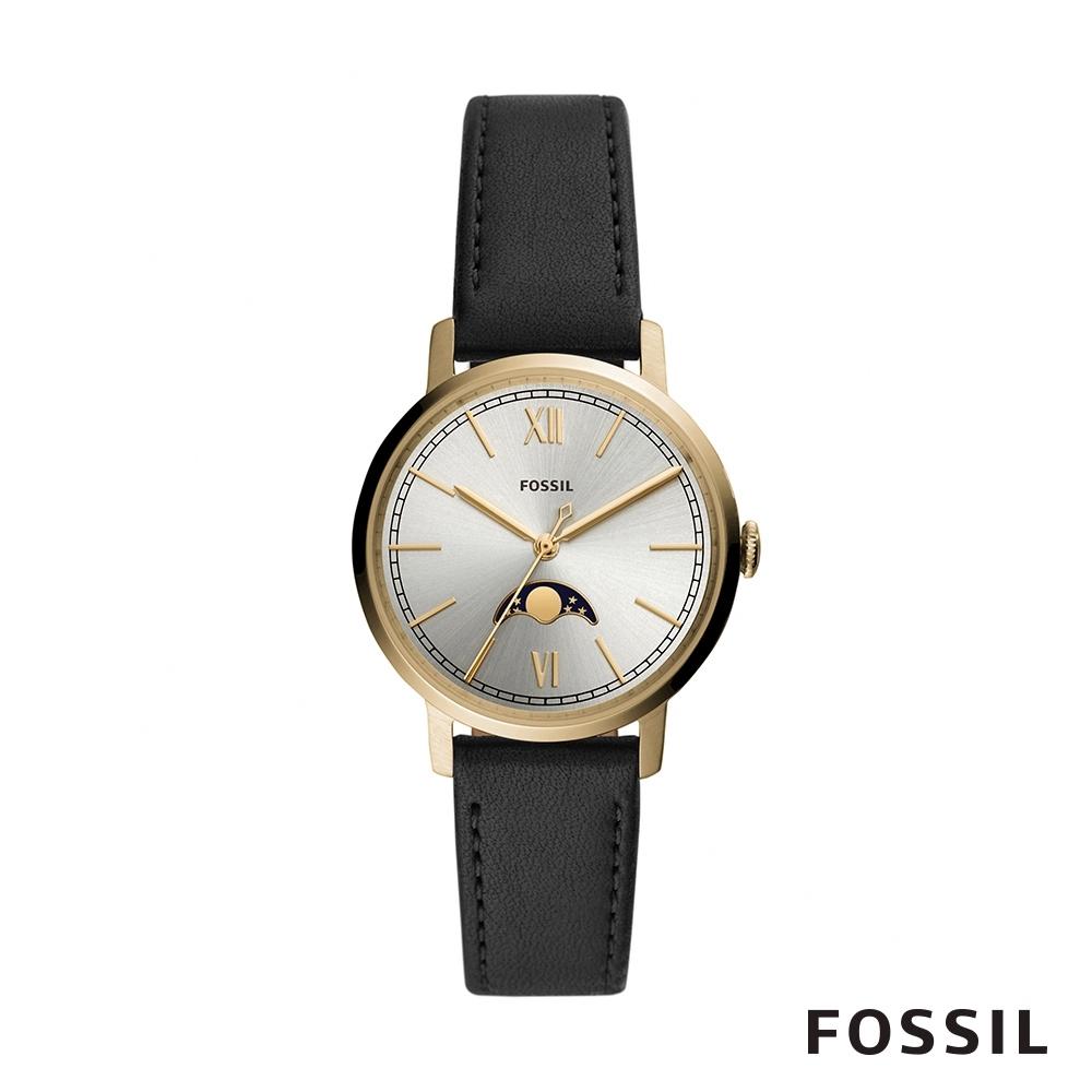 Fossil NEELY 霓麗典雅造型月相功能女錶 34mm ES4643