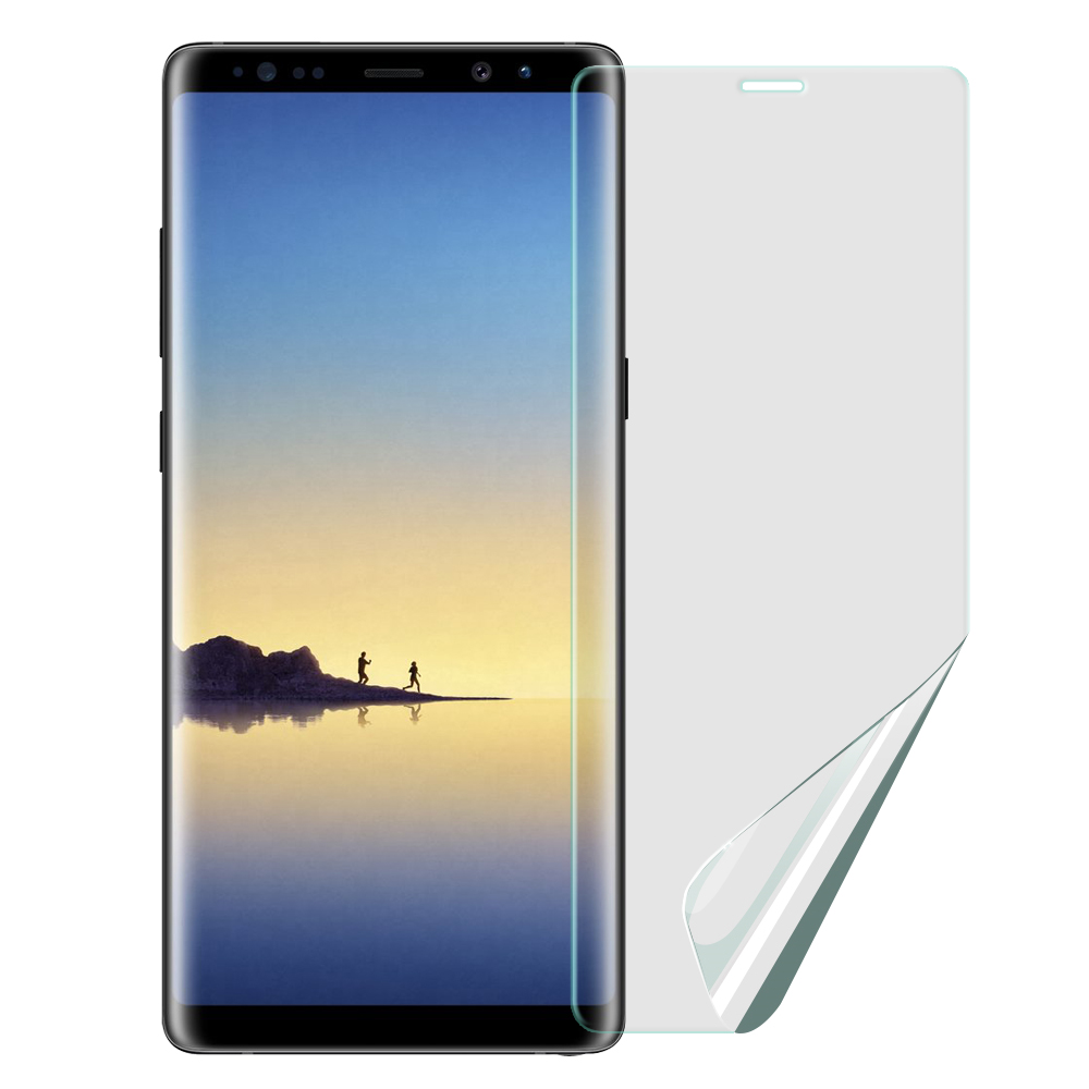 Xmart for 三星 Galaxy A8(2018版) 防眩光霧面耐磨保護貼-非滿版