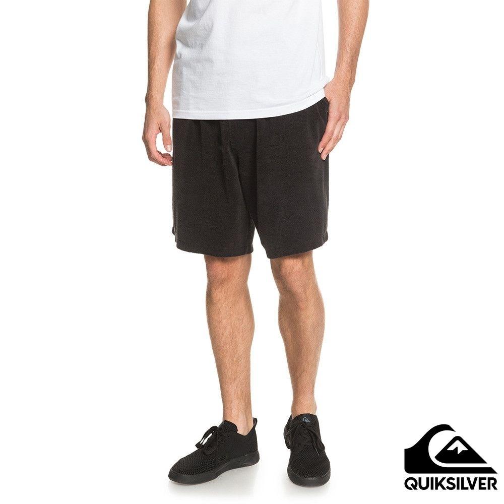 【QUIKSILVER】TOWEL SHORT 休閒短褲 黑色