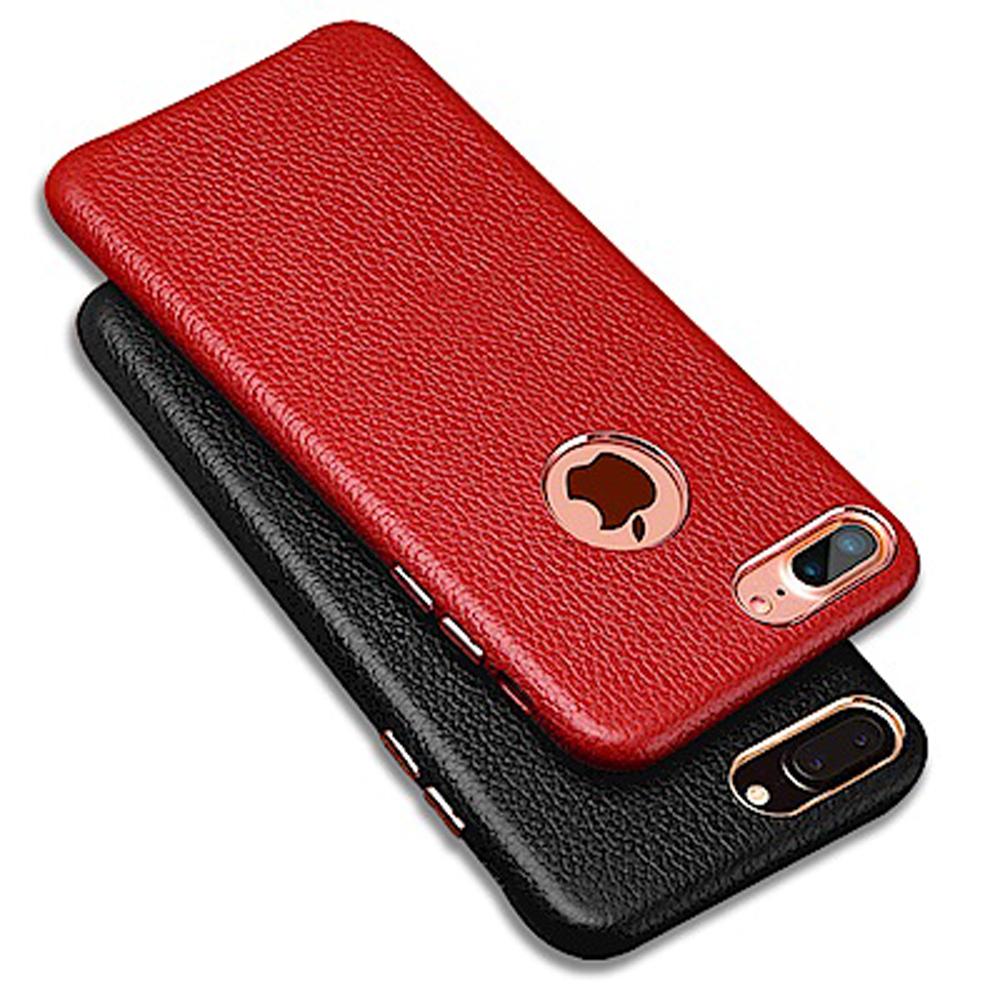 iStyle iPhone 7/8 plus 5.5 皇家頭層牛皮手機殼