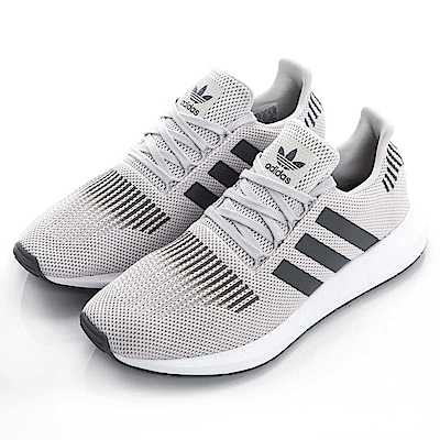ADIDAS SWIFT RUN 男慢跑鞋 CQ2109 米灰