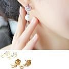 HERA 赫拉 經典玫瑰珍珠耳針款-2色