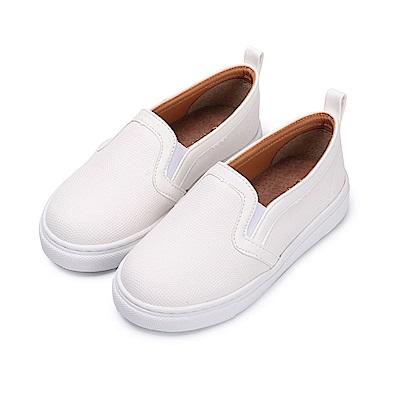 BuyGlasses 率性奔馳童款短靴-白