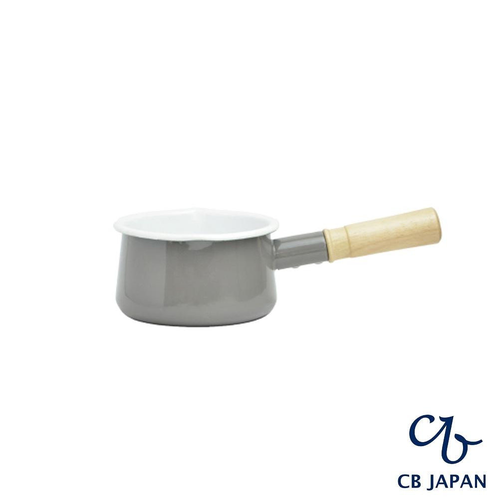 CB 都會系列琺瑯原木牛奶鍋12cm/湯鍋/琺瑯鍋