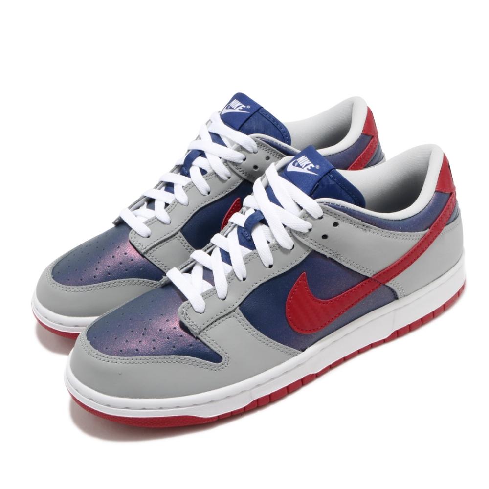 Nike 滑板鞋 Dunk Low SP 運動 男女鞋 皮革 簡約 SB 復刻 情侶穿搭 球鞋 灰 藍 CZ2667400