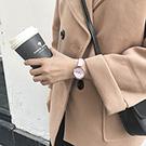 watch-123 一半宜伴-基礎撞色清新簡約無刻度手錶-