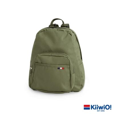 Kiiwi O! 極輕尼龍系列 休閒後背包 JEWEL 軍綠