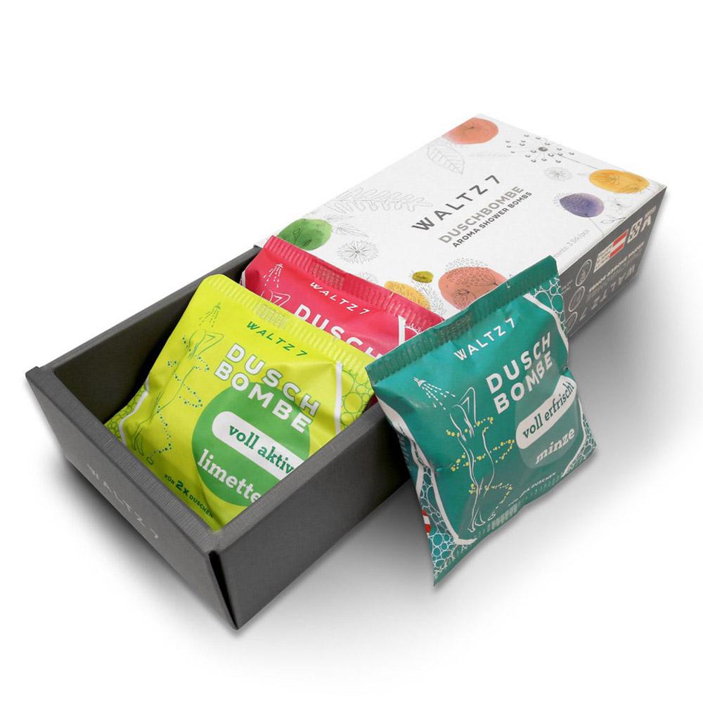 華爾滋7號淋浴SPA香氛錠-嘗鮮體驗綜合3入(禮盒組)COACH