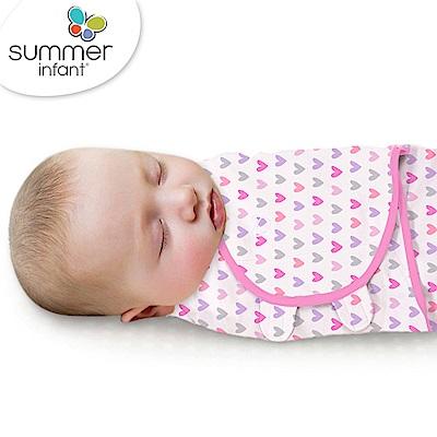 美國 Summer Infant 嬰兒包巾, 純棉 S (浪漫甜心)