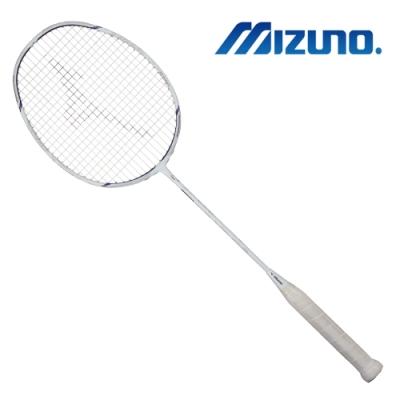 【MIZUNO 美津濃】ALTIUS 01 SPEED 羽球拍 白x紫(73JTB90201)
