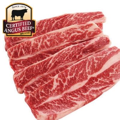 (滿額) 豪鮮牛肉 黑安格斯精品級無骨牛小排1片(200公克±10%/片)